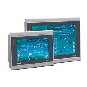 Сенсорные панельные контроллеры и панели оператора